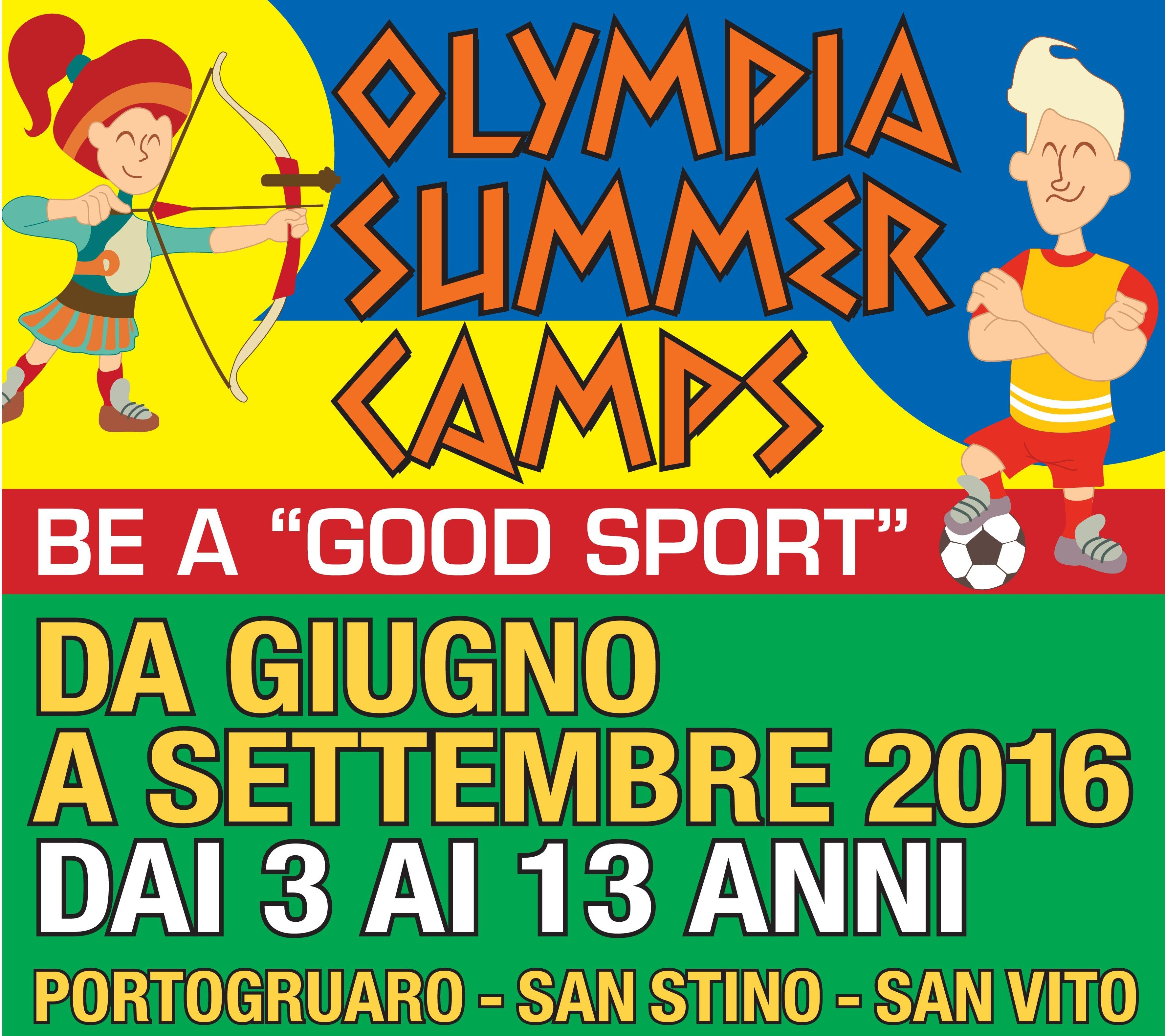Olympia Summer Camps 2016